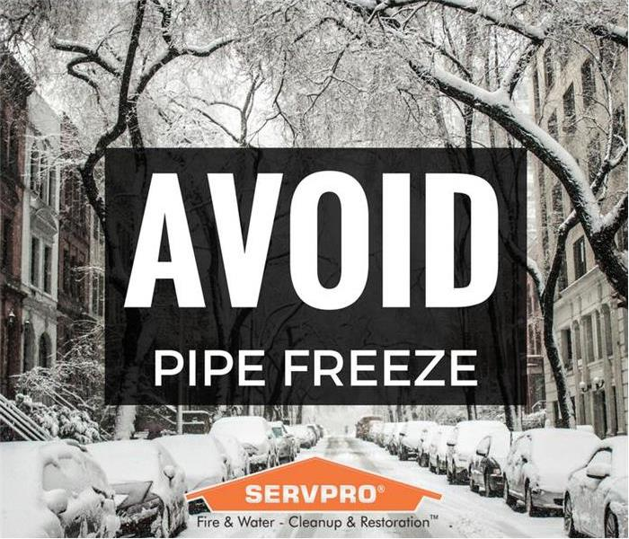 Avoid Pipe Freeze