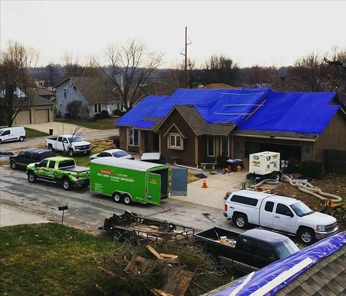 Tornado Rebuild for SERVPRO of Raytown/East Kansas City